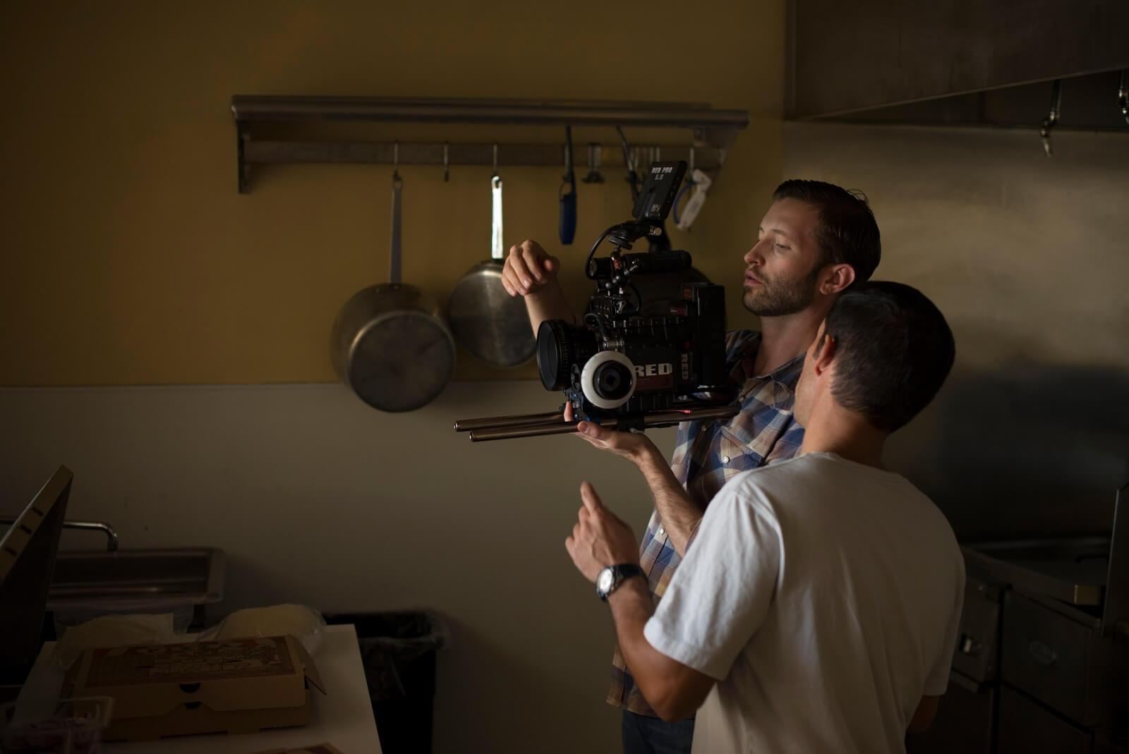 video producción, imagen de filmación