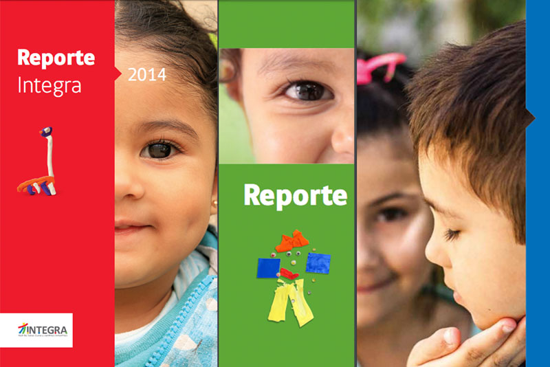 Portadas de los Reportes del período 2014-2018