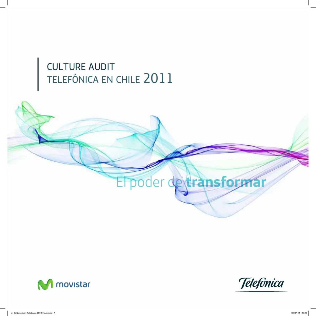 Libro culture audit para telefónica