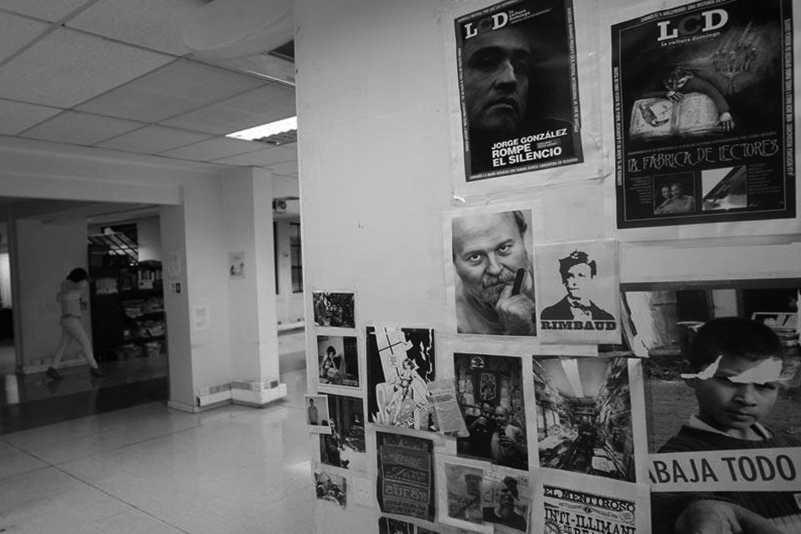 Redacción de sección LCD en Edificio Diario La Nación